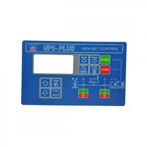 Lexan Label for Remote Display Control