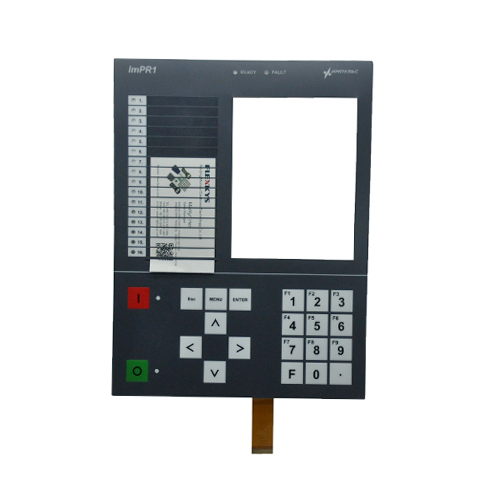 IMPR1 MICROPROCESSOR-BASED RELAY PROTECTION AND AUTOMATICS DEVICES FRONT PANEL FPC MEMBRANE KEYPAD